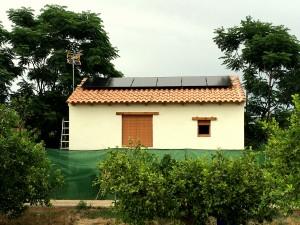 Instalación fotovoltaica aislada Murcia